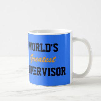 La taza más grande del supervisor del mundo
