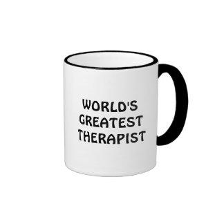 La taza más grande del terapeuta del mundo