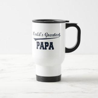 La taza más grande del viaje de la papá del mundo