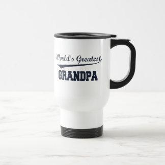 La taza más grande del viaje del abuelo del mundo