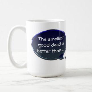 La taza más pequeña del hecho