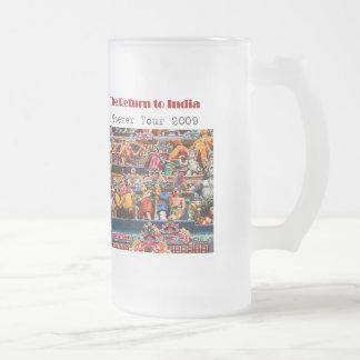 La taza meridional del viaje de la India