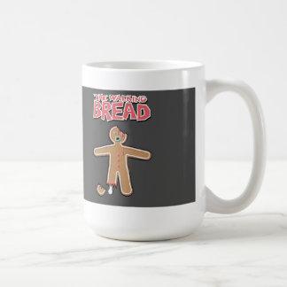 La taza muerta del hombre de pan de jengibre que