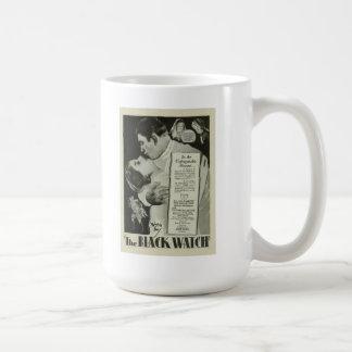 La taza negra 1929 del cartel de película del