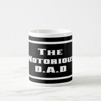 La taza notoria de D.A.D