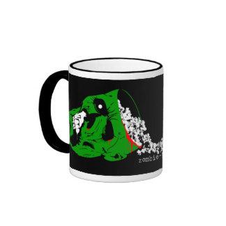 La taza oficial de las palomitas del zombi