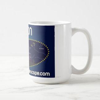 La taza oficial del cometa ISON con la carta del b