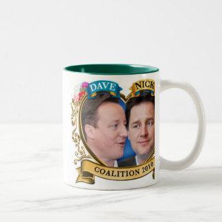 La taza original 2010 de la coalición