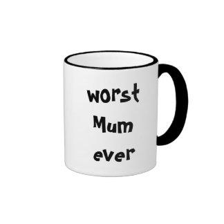 la taza peor de la momia nunca
