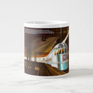 La taza pionera 1934 del jumbo de la especialidad  tazas extra grande
