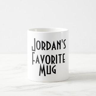 La taza preferida de Jordania