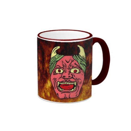 La taza principal del diablo japonés