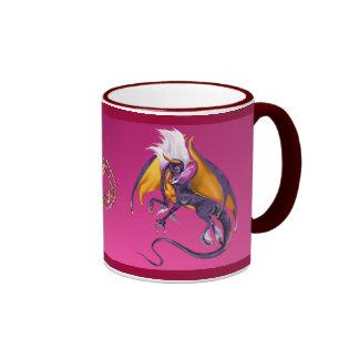 La taza púrpura del dragón