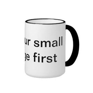 la taza que dice consejo redacta sabio