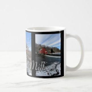 La taza roja de la imagen del molino 3