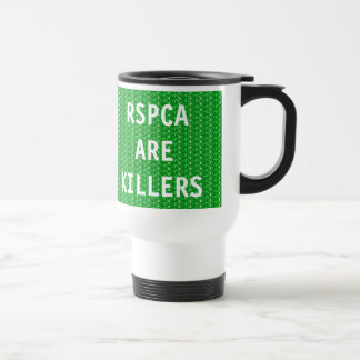 La taza RSPCA es asesinos