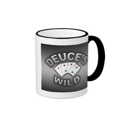 La taza salvaje del Deuce