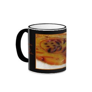 La taza serpentina tallada, foto cerca gretchen