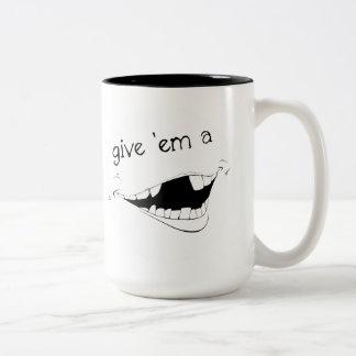 La taza sonriente