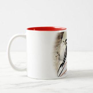 La taza suave del té de la pulsación de corriente