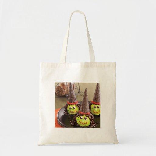 La taza traviesa de Halloween apelmaza el bolso Bolsa Tela Barata