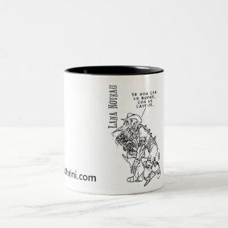 La tazza di Lana Noveau! Two-Tone Coffee Mug