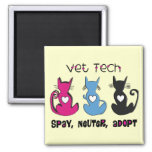 La tecnología del veterinario SPAY NEUTRAL ADOPTA  Imanes
