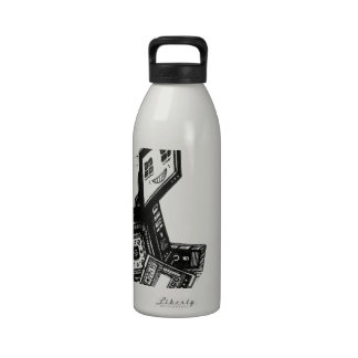 La tecnología es nuestro amigo botella de agua