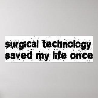 La tecnología quirúrgica ahorró mi vida una vez impresiones