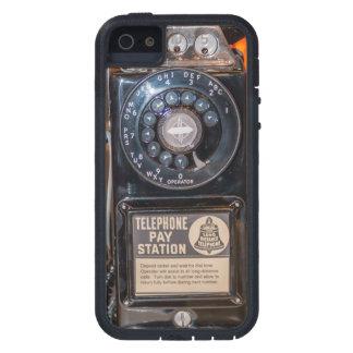 La tecnología retra busca su teléfono ELEGANTE iPhone 5 Funda