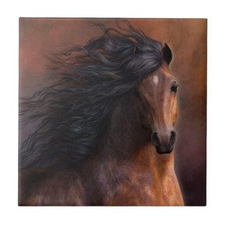La teja del arte del caballo de Morgan