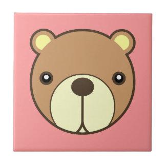 La teja más estimada del bebé del oso