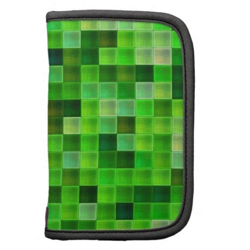 La teja verde del cuarto de baño ajusta el modelo planificadores