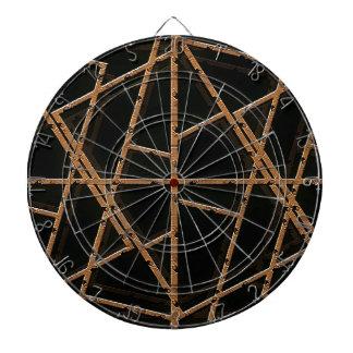 La tela ata con alambre el fondo