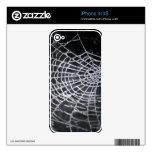 La tela de araña iPhone 4 skin