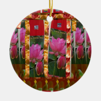 La tela de Lotus de las costuras de la moda de la  Adornos