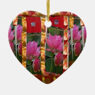 La tela de Lotus de las costuras de la moda de la  Ornamentos Para Reyes Magos
