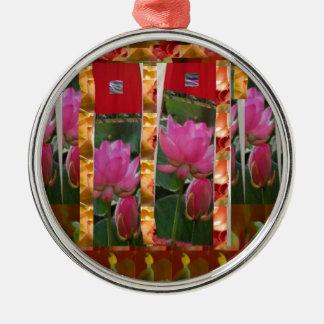 La tela de Lotus de las costuras de la moda de la  Ornatos