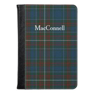 La tela escocesa de tartán de MacConnell enciende