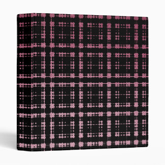 "La tela escocesa moderna del rosa y del negro carpeta 1"""