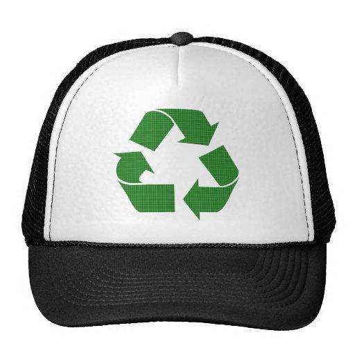 la tela escocesa recicla gorras