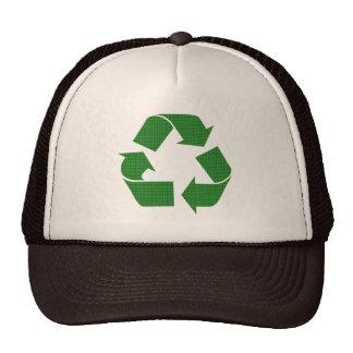 la tela escocesa recicla gorros