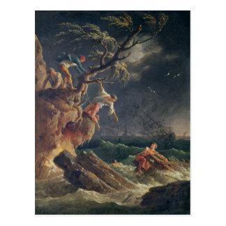 La tempestad, c.1762 postales
