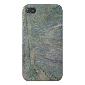La tempestad de truenos (aceite en lona) iPhone 4 protectores