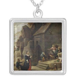 La tentación de St Anthony 2 Collar
