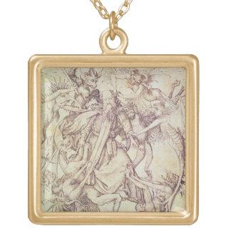 La tentación de St Anthony (grabado) Grimpolas Personalizadas