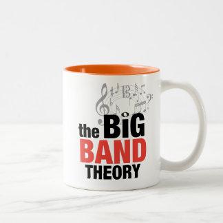 La teoría de big band tazas