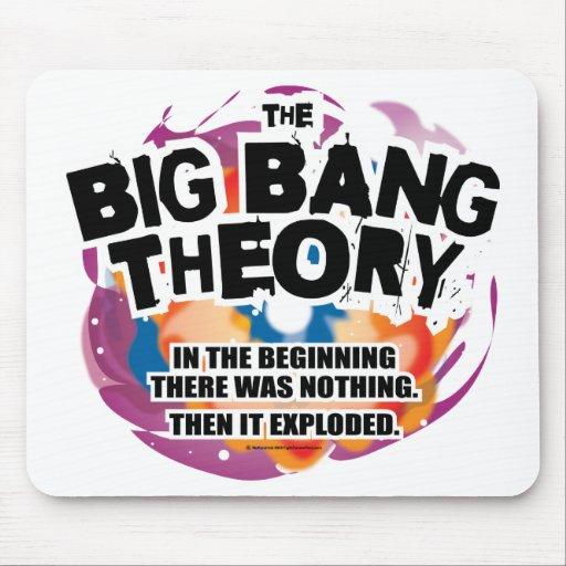 La teoría de Big Bang Tapete De Ratones