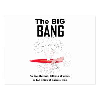 La teoría de Big Bang Tarjeta Postal