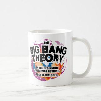 La teoría de Big Bang Tazas De Café